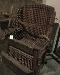 Der Hexenstuhl im Kriminalmuseum