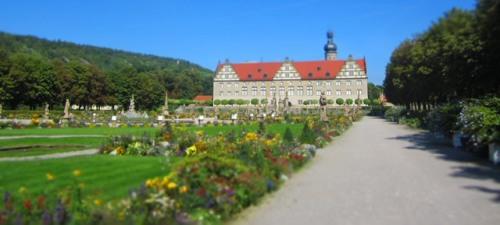 das Schloss Weikersheim, absolut sehenswert